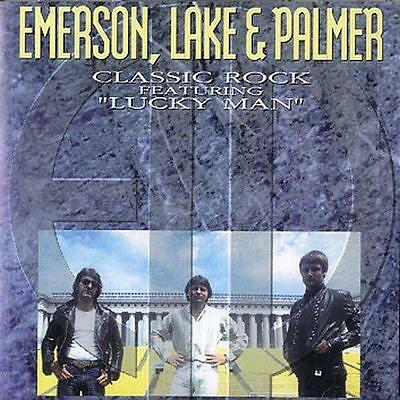 EMERSON LAKE & PALMER - Classic Rock (CD 1994) EXC USA Greatest Hits/Best of