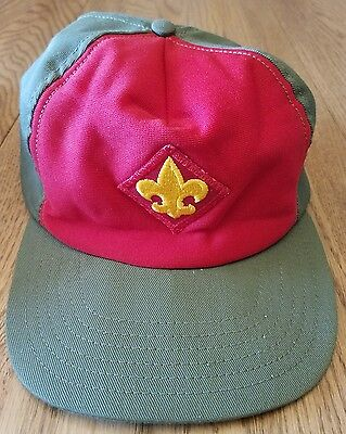 Vintage Boy Scouts of America Snapback Hat Cap Made in USA
