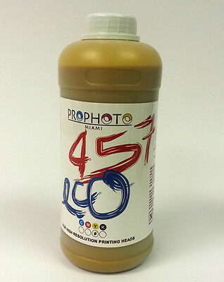 Eco solvent Ink ECO457 for Mutoh Roland Mimaki printers YELLOW 1 liter