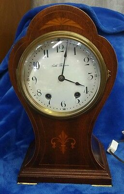Seth Thomas  footed  Mantle Clock Antique