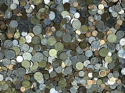 65 Pounds Of Mixed World Coins- Lot 1