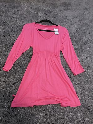 Nwt Motherhood Maternity Pink Tunic New With Tags Size L