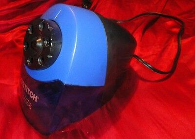 BOSTITCH Quiet Sharp 6 CLASSROOM Electric Pencil SHARPENER Blue