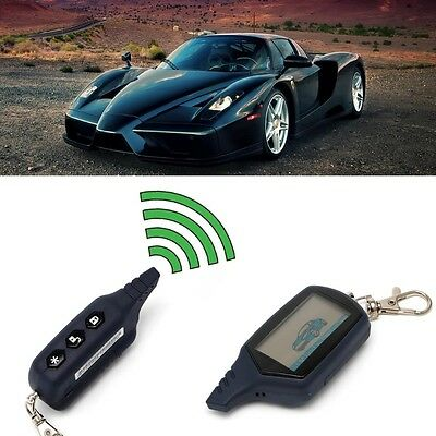 Security 2 Way Car Alarm LCD Remote Controller For Russian Version StarLine A91