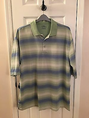 Mens Pre-Owned Short Sleeved Collared Size 3Xlt From Pga Tour