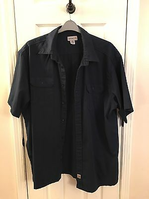 Mens Pre-Owned Carhartt  Size 3X In Dark Blue/marine