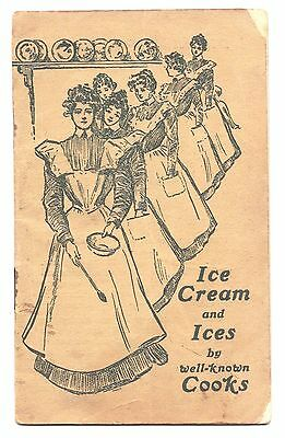 Vintage Peerless Ice Freezer Recipe Book Ice Cream And Ices By Well Known Cooks