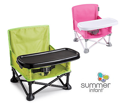 New Portable Booster Sit Pop N Infant Summer Chair Baby Green Feeding Seat