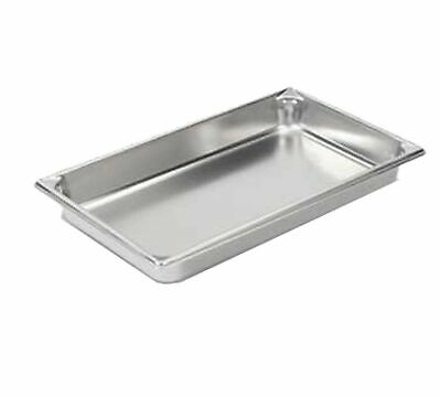 """Vollrath (30022) 2-1/2"""" Deep Super Pan V Stainless Steel Full-Size Steam Table P"""