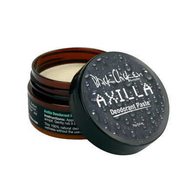 Black Chicken Remedies Axilla 100% Natural and Vegan Deodorant Paste 75 g