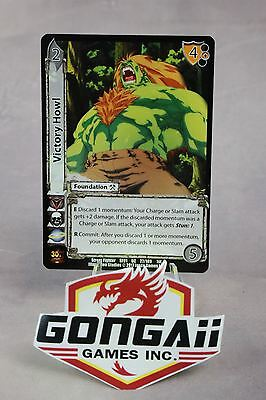 Street Fighter CCG - Victory Howl #27 Uncommon