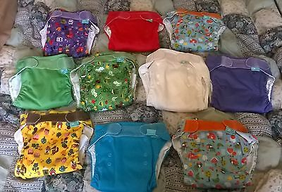 Tots Botts nappies, MCN, bulk lot of 10