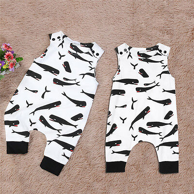 Newborn Baby Clothes Girls Boys Romper Jumpsuit Cartoon Cotton Outfits