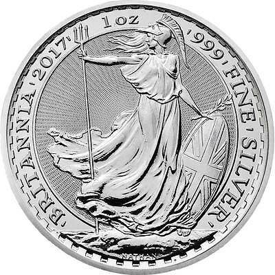 Silver 1 ounce Britannia from The Royal Mint : 999 purity silver 1oz