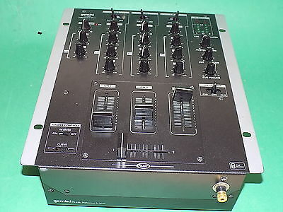 GEMINI PS-626x Professional DJ Controller Mixer 3 Channel for Decks Turntable CD