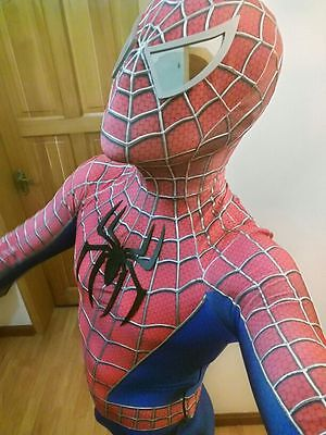 Toby Amazing Spiderman Adult Costume 3D Spandex Zentai Detached Tight Suit Cos