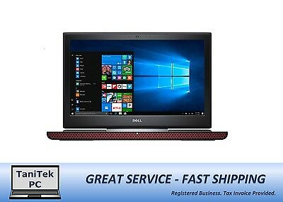 Dell Inspiron 15 7000 7567 Gaming Laptop i7-7700HQ 16GB 256GB SSD+1TB GTX1050Ti