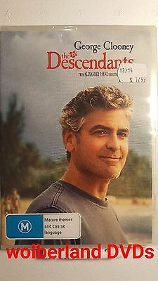 The Descendants [ DVD ] BRAND NEW & SEALED, FREE Next Day Post