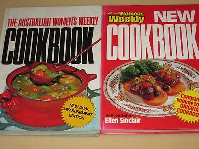 Aust Womens Weekly Cookbooks The Original And New Recipes Cookbooks  Retro