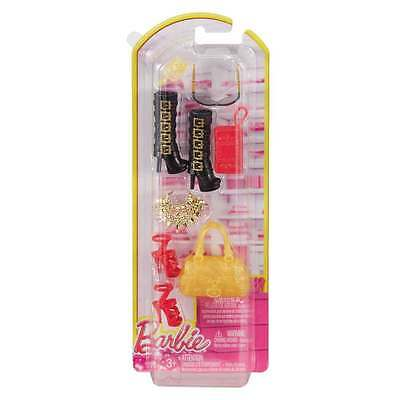 Barbie Fashionistas Accessories Pack - Red, Black & Gold