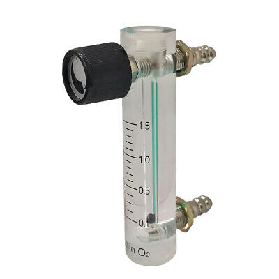 0.1-1L to 1-15L Oxygen Flow Meter Flowmeter with Control Valve For Air Gas