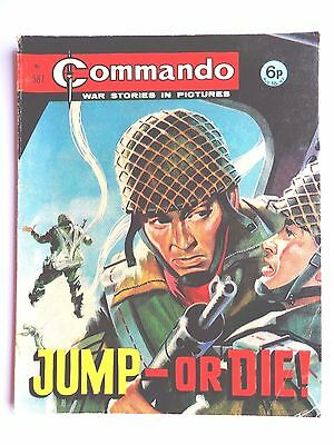 Commando War Comic Number 587!!, 1971, Good For Age, 46 Years Old Issue, V Rare