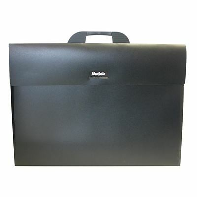 Westfolio A2 Black Carry Case Portfolio - Flat Artwork Drawing Storage Folder