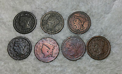 Large cents (7) - free shipping
