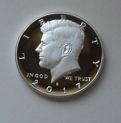 2017 S Silver Kennedy half dollar proof   In Stock