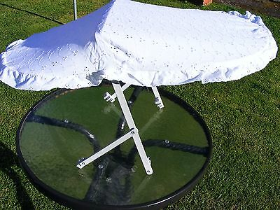 Unused Universal BRODERIE ANGLAISE SUN CANOPY for Buggy/Pushchair(fit 15mm frame
