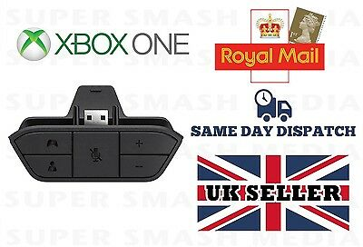 Official Genuine Microsoft Xbox One Stereo Headset Adapter - NEW - Bulk Packaged