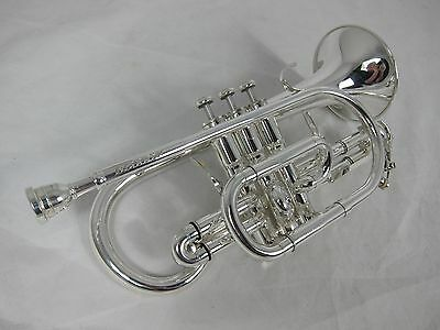 Besson Sovereign BE928 Bb Cornet - Silver Plate (used instrument)
