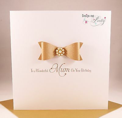 HAPPY BIRTHDAY MUM - Luxury Birthday Card - Mother Mummy