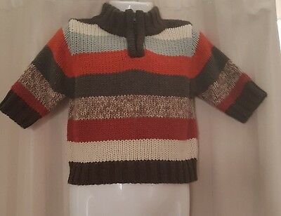 Baby Boys Knitted Jumper Sz 00