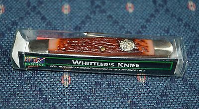 Camillus New York U.s.a. Official Boy Scout Whittler's Pocket Knife- Mint In Box