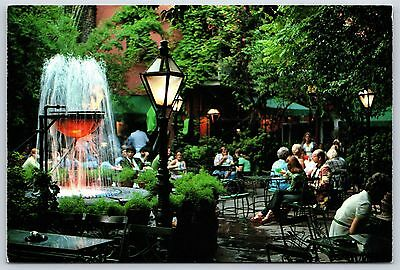 Pat O'Brien's Patio New Orleans, Louisiana Pat Obrien's Continental Postcard New