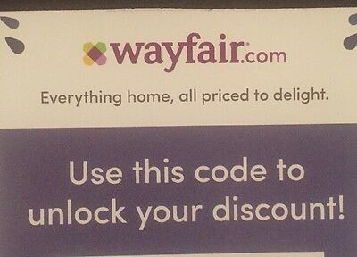 Experienced Seller: Wayfair 10% Off Entire New Order, Exp 7/31/17
