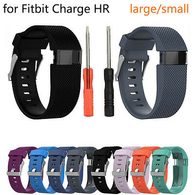 Replacement Wristband Band Strap with Tool Bracelet For Fitbit Charge HR Tracker