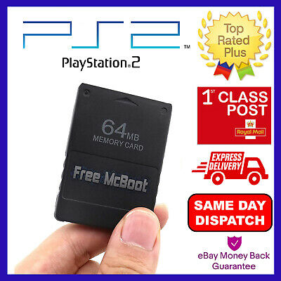 Free MCBoot 1.953 PS2 64MB Memory Card - Playstation 2 - (OPL MC Boot SNES MORE)