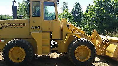 Ford A64 Wheel Loader :4x4, 3yard bucket, low hours, factory rebuilt motor