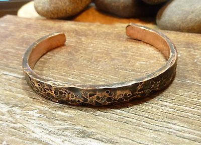 Antique Hand Crafted Copper Viking Bracelet 33,84 gr.
