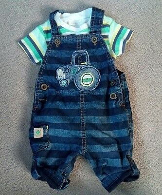 Next boys up to 3 months dungarees
