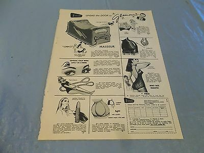 Vintage Fredericks of hollywood ad clipping  #615