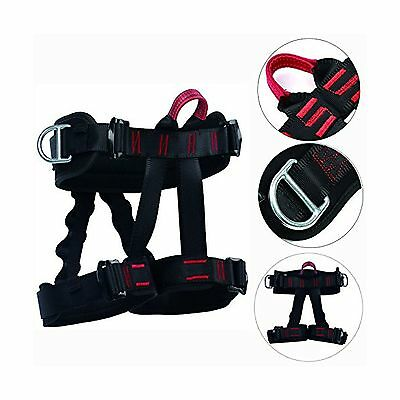 YaeTact Safety Rock Tree Climbing Rappelling Harness Seat Sitting Bust BeltHa...