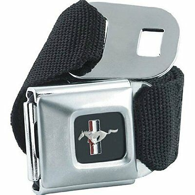 Authentic Black Ford MUSTANG Seat Belt Buckle Belt Buckle-Down pants Seatbelt