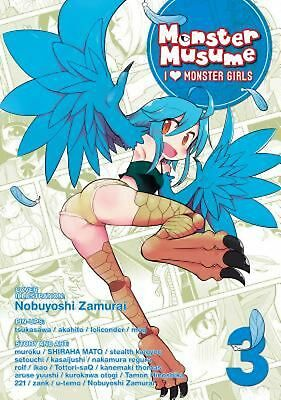 Monster Musume: I Heart Monster Girls Vol. 3 by Okayado (English) Paperback Book