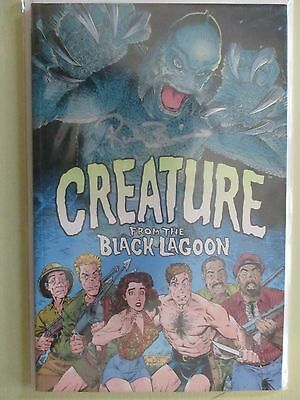 Universal Monsters Creature From The Black Lagoon Comic #1 Rico Browning Signed