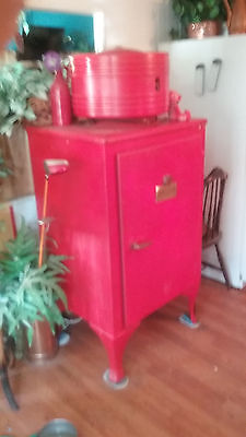Antique GE very early year ball toprefrigerator