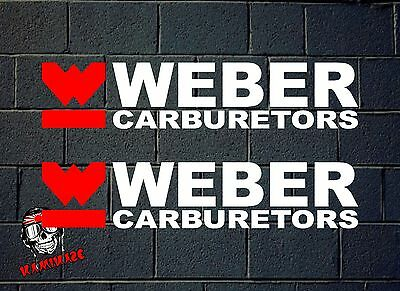 Sticker Sticker Autocollant Adesivi Aufkleber Decal Adesivo Weber Carburetors