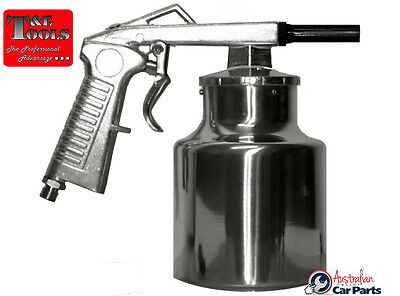 Sand Blasting Gun With Cup G809 T&E Tools New